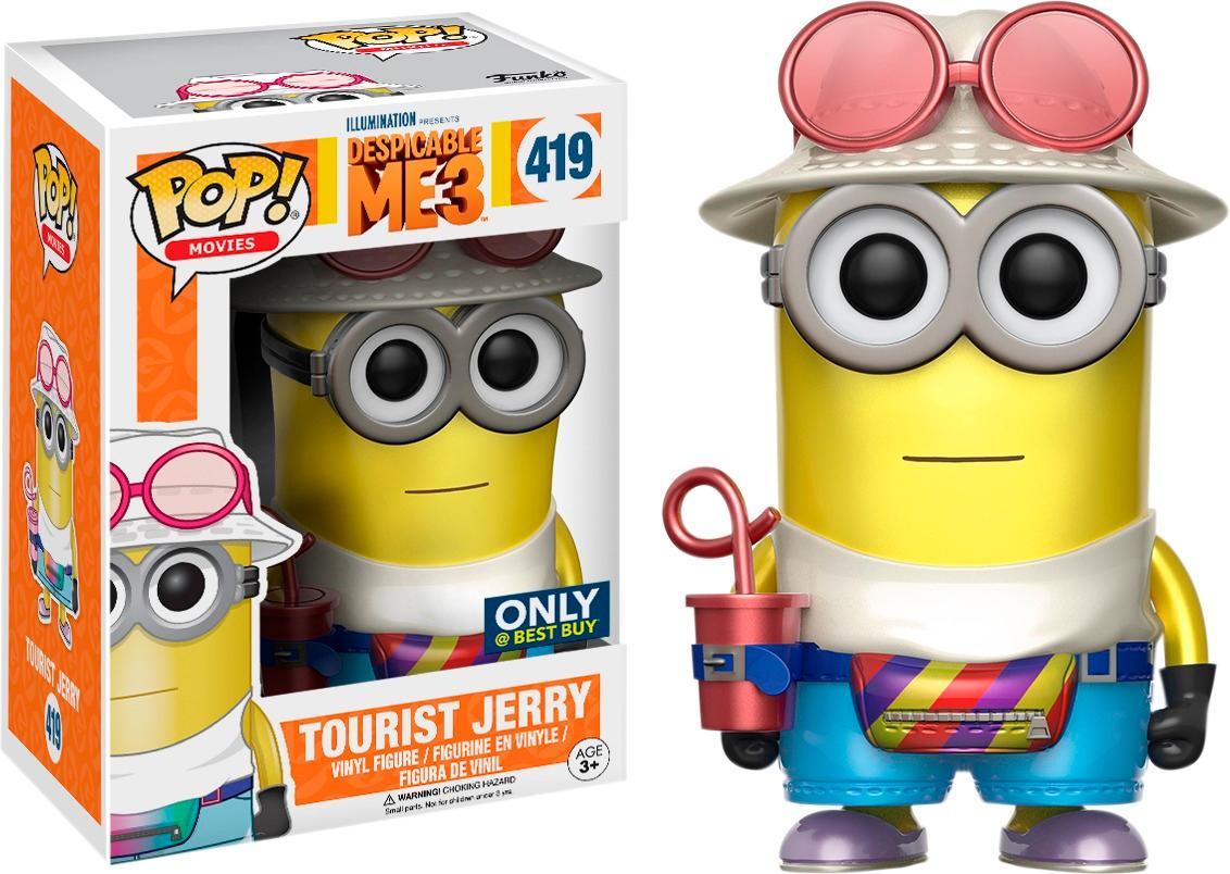 Funko - Pop! Movies Despicable Me 3: Metallic Jerry 5740400