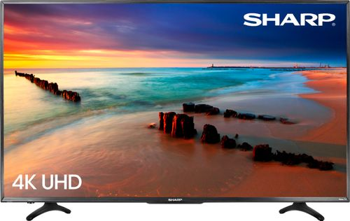 "Sharp - 65"" Class - LED - 2160p - Smart - 4K UHD TV with HDR Roku TV"