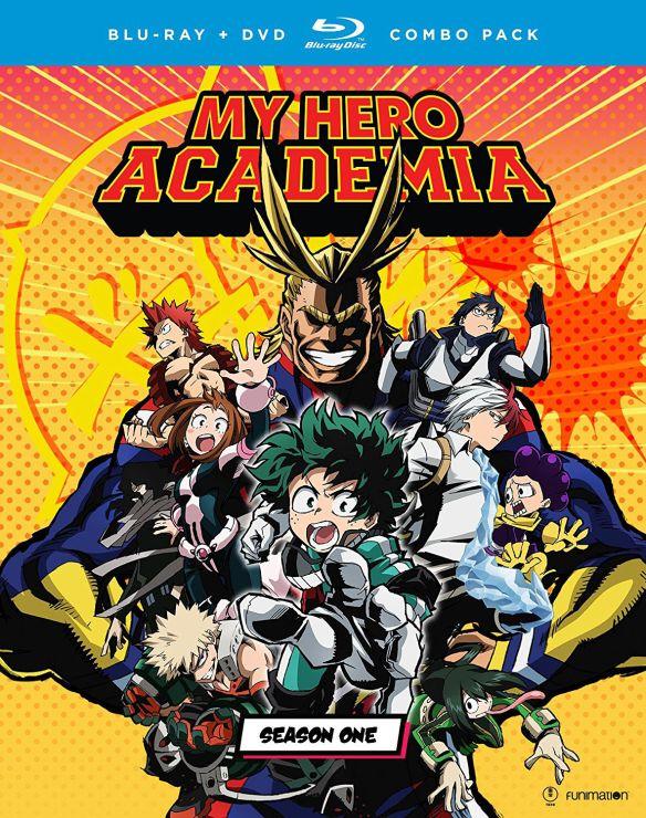 My Hero Academia: Season One [Blu-ray/DVD] [5 Discs] 5746402