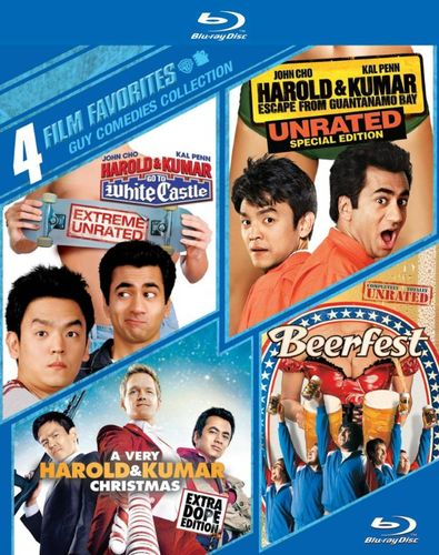 Guy Comedies Collection: 4 Film Favorites [4 Discs] [Blu-ray] 5747248