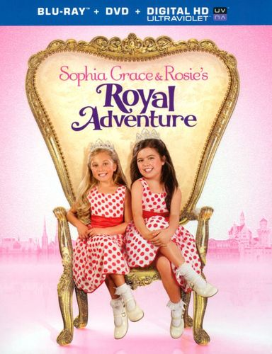 Sophia Grace and Rosie's Royal Adventure [Blu-ray] [2014] 5747412