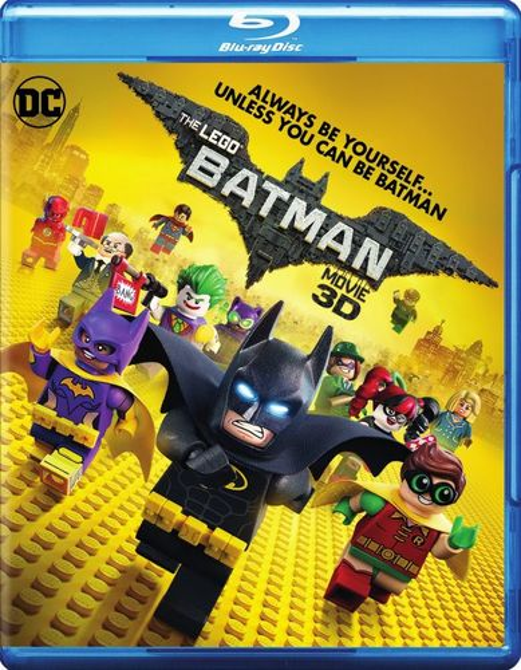 The LEGO Batman Movie [3D] [Blu-ray] [Blu-ray/Blu-ray 3D] [2017] 5751502