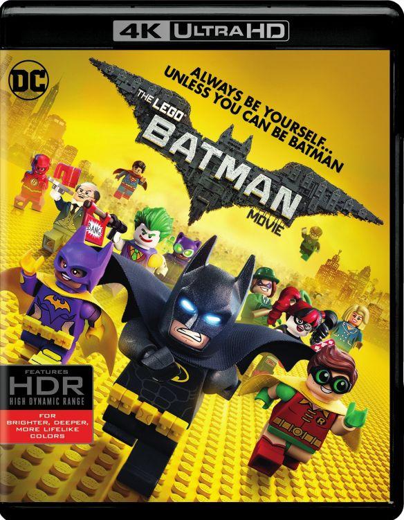 The LEGO Batman Movie [4K Ultra HD Blu-ray/Blu-ray] [2017] 5751503