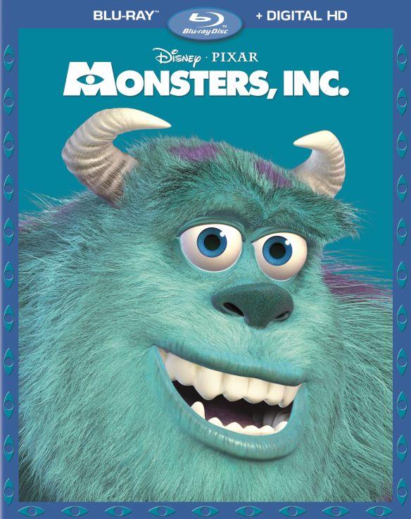 Monsters, Inc. [Blu-ray] [2 Discs] [2001] 5754803