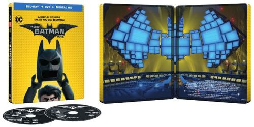 The LEGO Batman Movie [SteelBook] [Includes Digital Copy] [Blu-ray/DVD] [Only @ Best Buy] [2017] 5757603