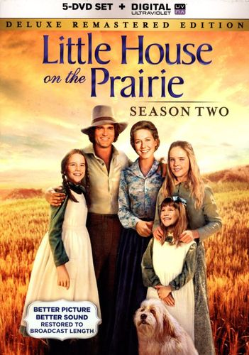 Little House on the Prairie: Season Two [5 Discs] [Includes Digital Copy] [UltraViolet] [DVD] 5759033