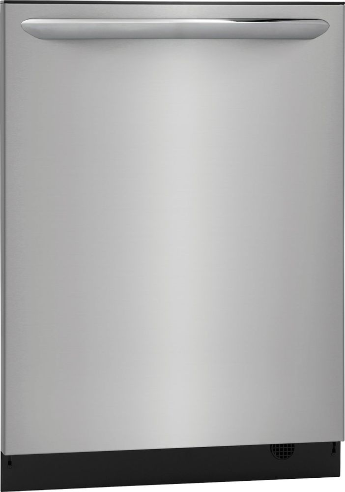 "Frigidaire FGID2476SF Gallery 24"" Top Control Tall Tub Built-In Dishwasher with Stainless Steel steel"