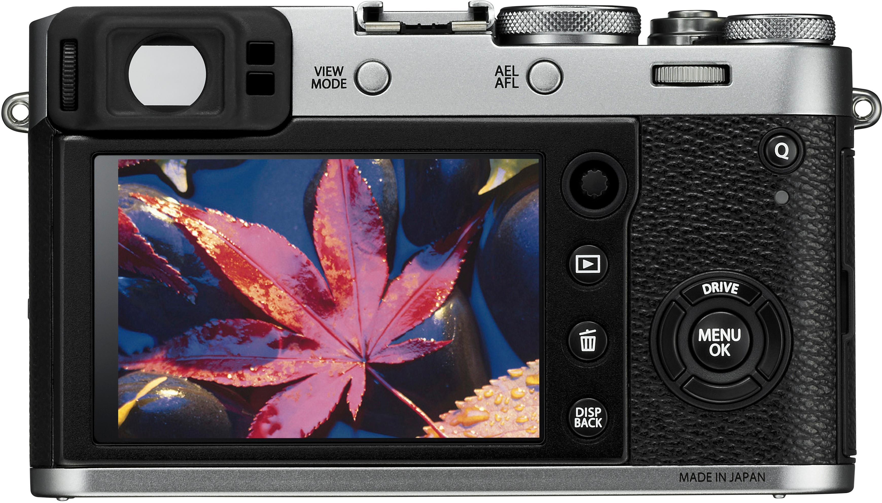 Fujifilm 16534584 X-Series X100F 24.3-Megapixel Digital Camera Silver