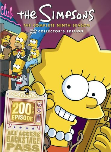 The Simpsons: The Complete Ninth Season [4 Discs] [DVD] 5761122
