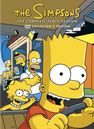 The Simpsons: The Complete Tenth Season [3 Discs] [DVD] 5761131