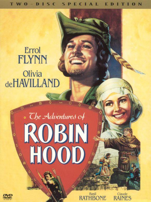 The Adventures of Robin Hood [2 Discs] [DVD] [1938] 5763257