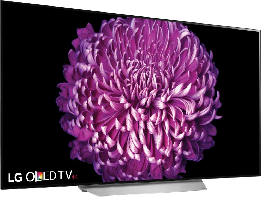 """LG OLED65C7P 65"""" Class (64.5"""" Diag.) 2160p Smart 4K Ultra HD TV with High Dynamic Range Silver"""