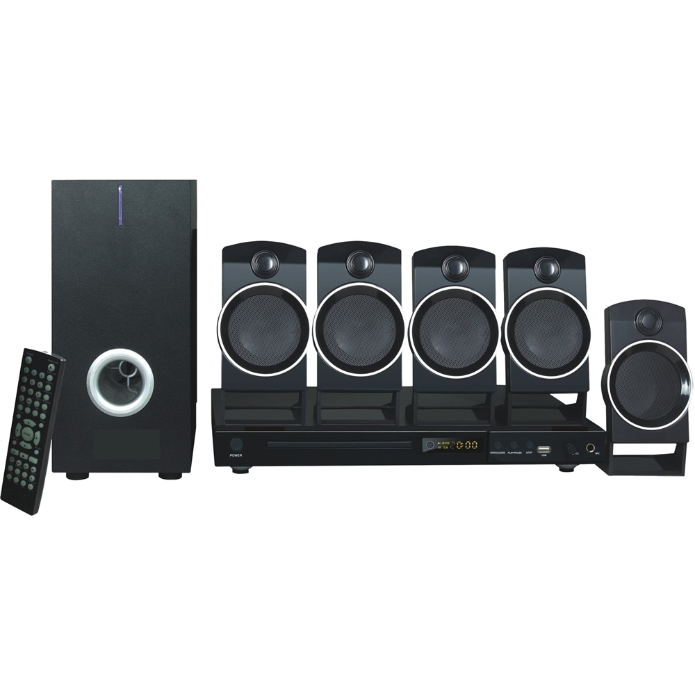Naxa DVD Home Theater System Black HTNA859