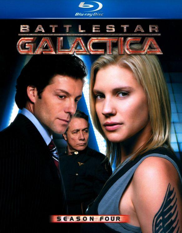 Battlestar Galactica: Season Four [6 Discs] [Blu-ray] 5764059
