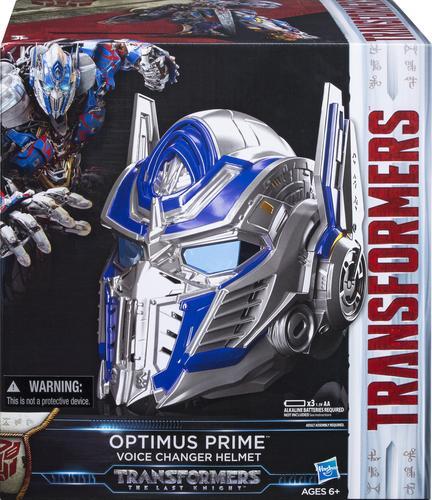 Hasbro - Transformers The Last Knight Optimus Prime Voice Changer Helmet - Multi
