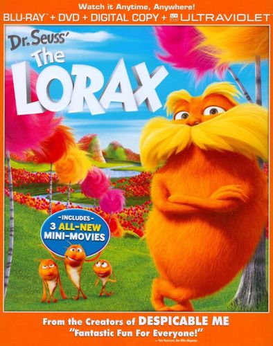 Dr. Seuss' The Lorax [2 Discs] [Includes Digital Copy] [UltraViolet] [Blu-ray/DVD] [2012] 5768116