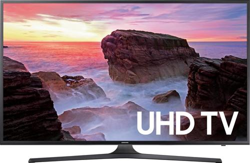 "Samsung - 43"" Class (42.5"" Diag.) - LED - 2160p - Smart - 4K Ultra HD TV - Gray"