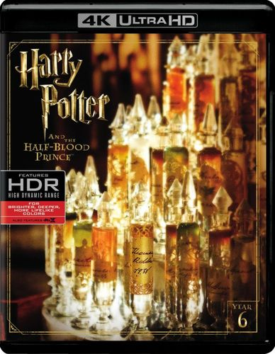 Harry Potter and the Half-Blood Prince [4K Ultra HD Blu-ray] [Includes Digital Copy] [UltraViolet] [2009] 5770200