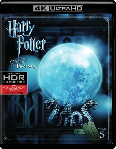 Harry Potter and the Order of the Phoenix [4K Ultra HD Blu-ray] [Digital Copy] [UltraViolet] [2007] 5770203