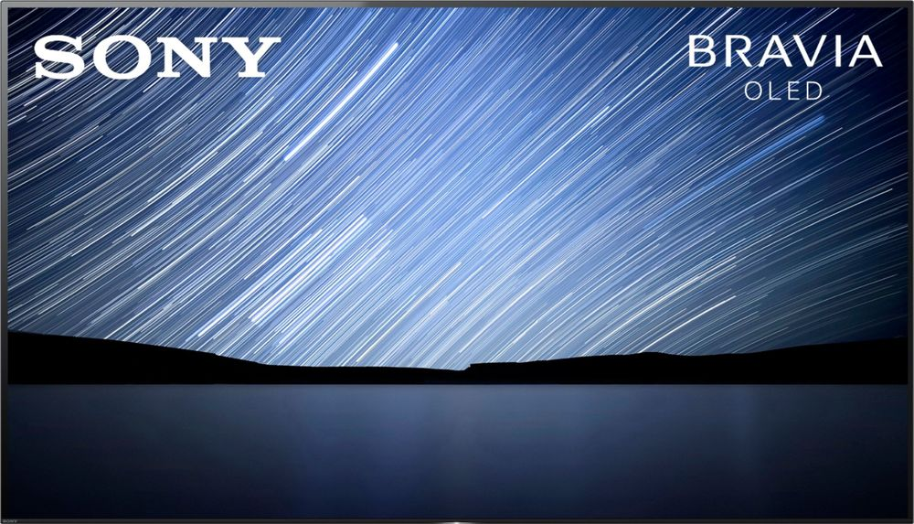 "Sony - 77"" Class (76.7"" Diag.) - OLED - 2160p - Smart - 4K Ultra HD TV with High Dynamic Range largeFrontImage"