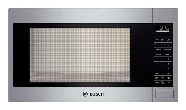 Bosch 500 Series 2.1 Cu. Ft. Built-In Microwave Stainless Steel HMB5051