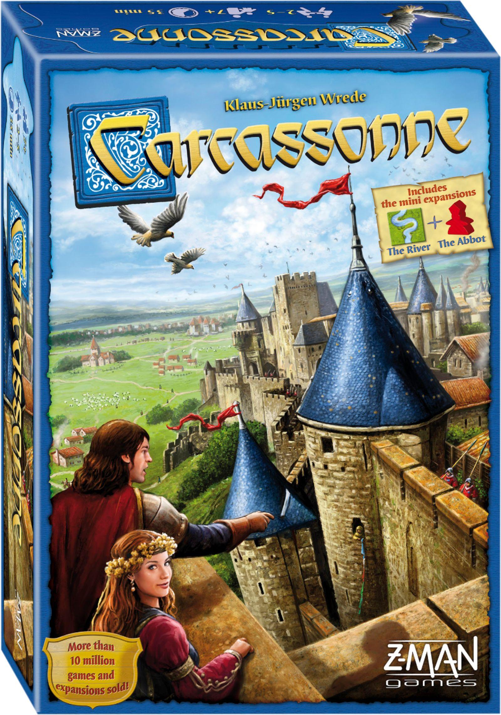 Z-man Games - Carcassonne Board Game