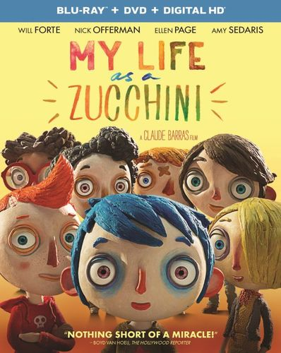 My Life as a Zucchini [Includes Digital Copy] [UltraViolet] [Blu-ray/DVD] [2 Discs] [2016] 5774719