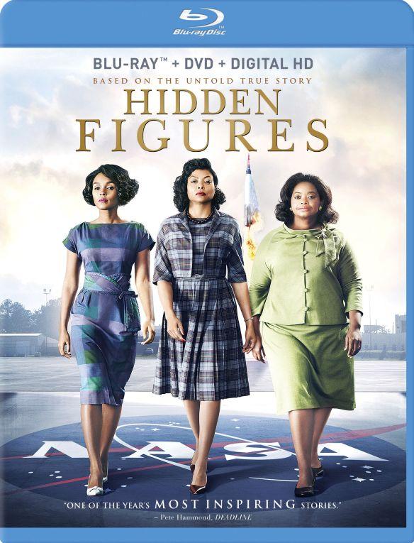 Hidden Figures [Includes Digital Copy] [Blu-ray/DVD] [2016] 5776910
