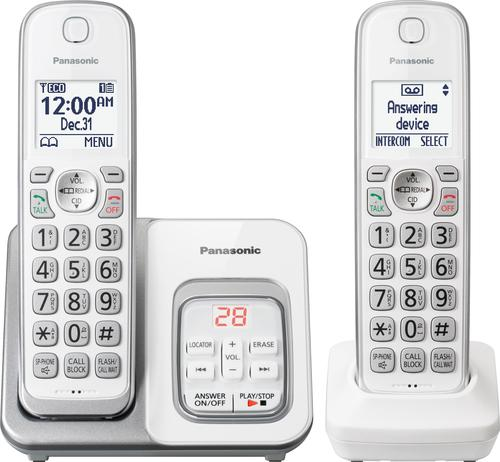 Panasonic Kx Tgd532w Dect 6 0 Expandable Cordless Phone System With Digital Answering
