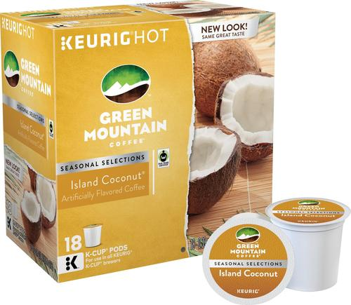 Keurig Green Mountain - Creamy Coconut K-Cups (18-Pack) 5781517