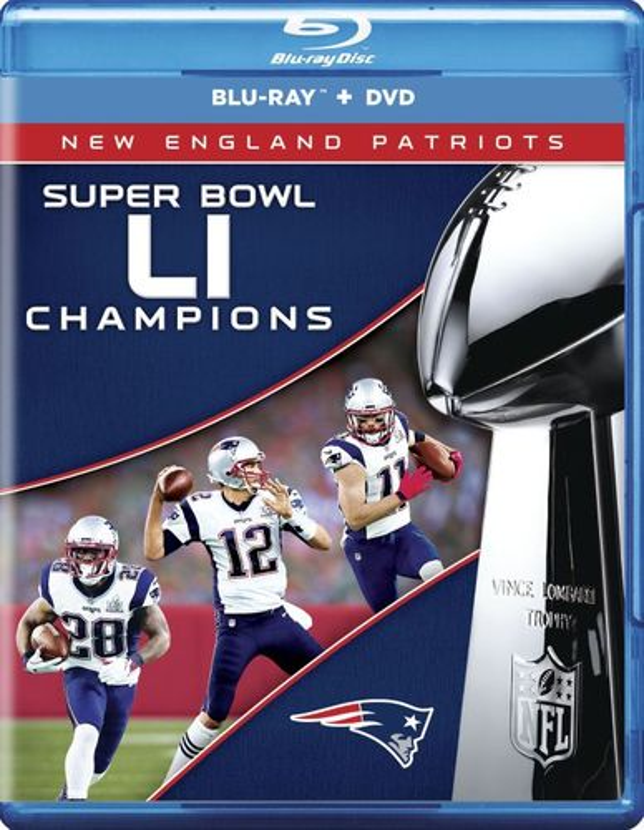 NFL: Super Bowl LI Champions - New England Patriots [Blu-ray] [2017] 5781523