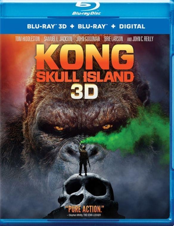 Kong: Skull Island [3D] [Blu-ray] [Blu-ray/Blu-ray 3D] [2017] 5782303