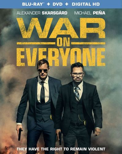War on Everyone [Includes Digital Copy] [UltraViolet] [Blu-ray/DVD] [2 Discs] [2016] 5782306