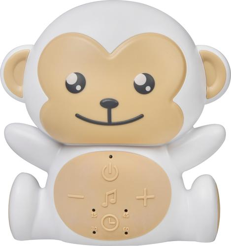 Project Nursery - Monkey Sound Soother - White