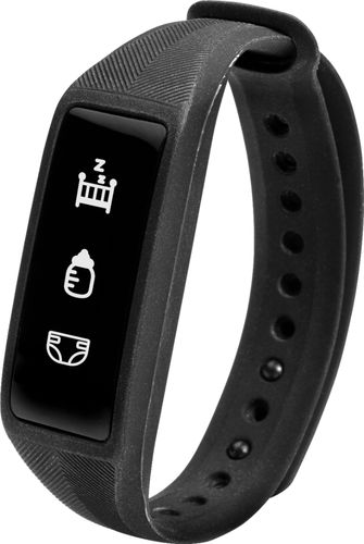 Project Nursery - parent + baby smartband Activity Tracker - Black
