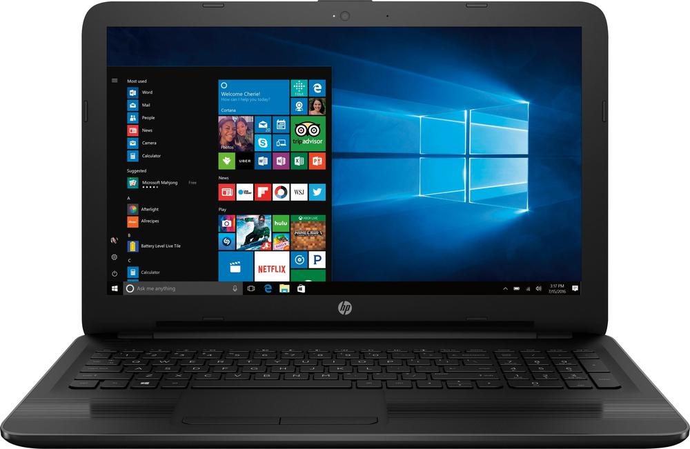 "HP 15.6"" Laptop AMD A12-Series 6GB Memory 1TB Hard Drive Black 15-BA061DX"