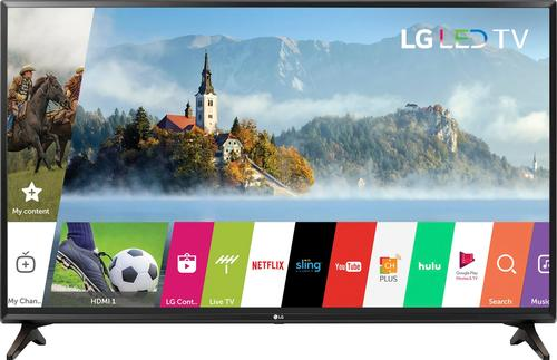 """LG - 55"""" Class (54.6"""" Diag.) - LED - 1080p - Smart - HDTV"""
