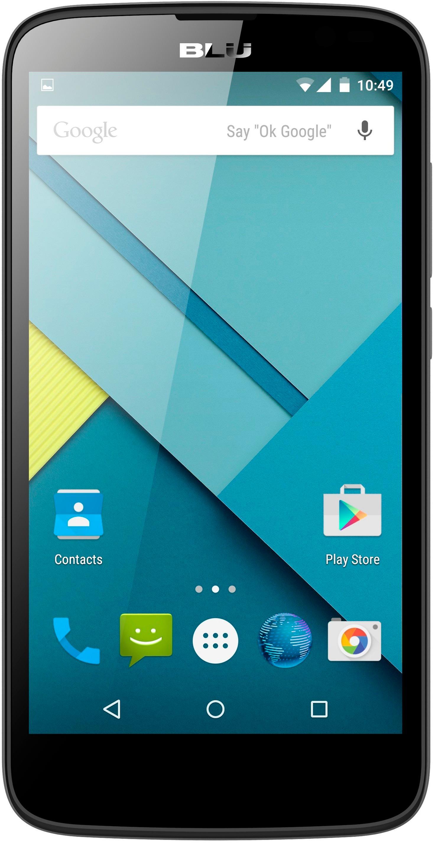 BLU Studio G with 4GB Memory Cell Phone (Unlocked) Black D790L BLK