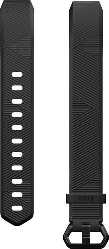 Fitbit - Classic Wristband for Fitbit Alta / Alta HR Activity Trackers - Large - Black