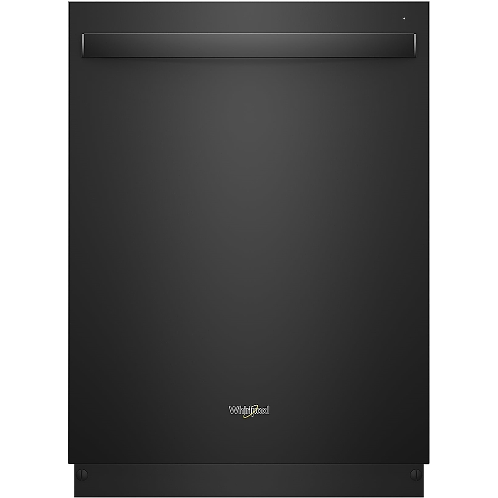 "Whirlpool 24"" Built-In Dishwasher Black WDT970SAHB"