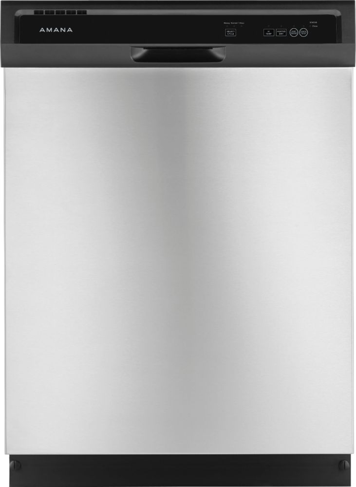"Amana ADB1400AGS 24"" Built-In Dishwasher Stainless steel"