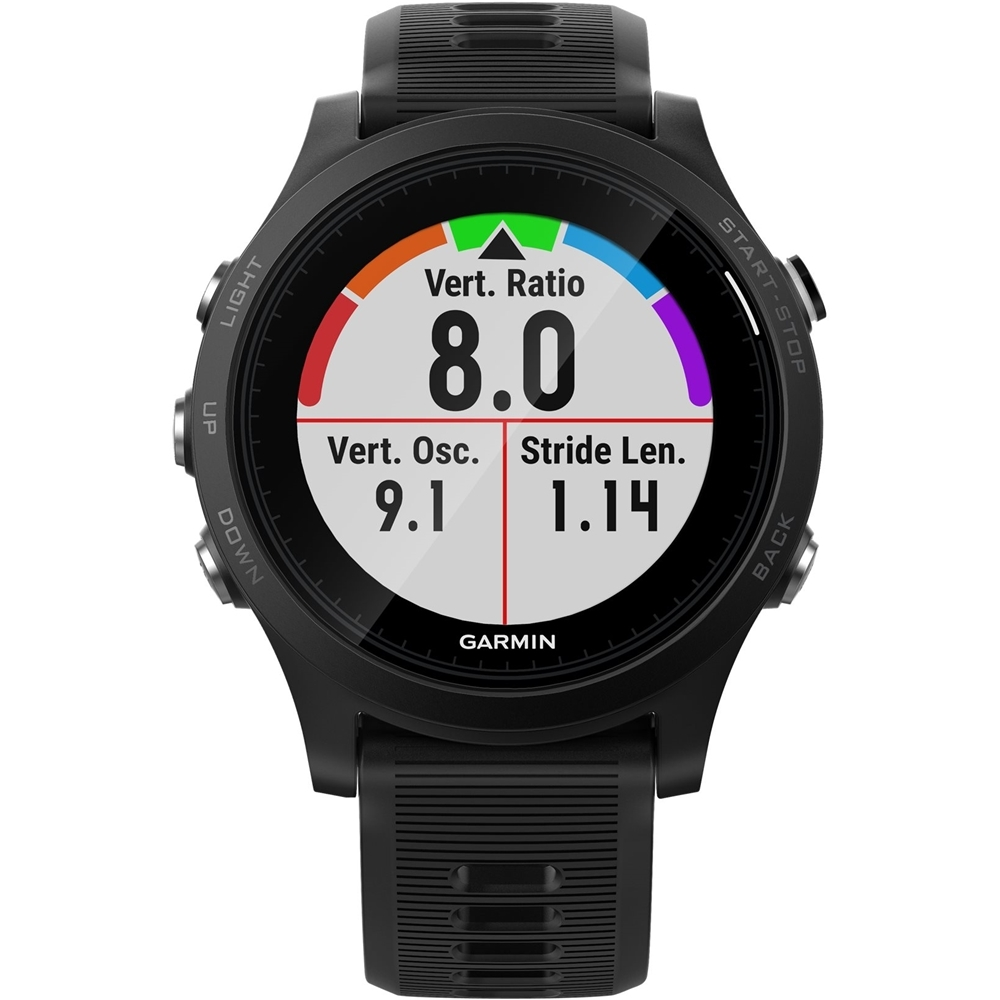 Garmin - Forerunner 935 GPS Heart Rate Monitor Watch - Black