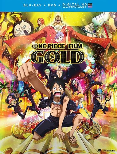 One Piece Film: Gold - The Movie [Blu-ray/DVD] [2 Discs] [2016] 5800832
