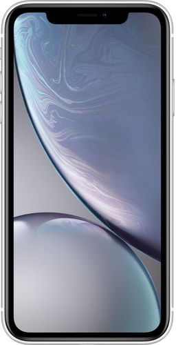 Apple - iPhone XR 64GB - White (Verizon)