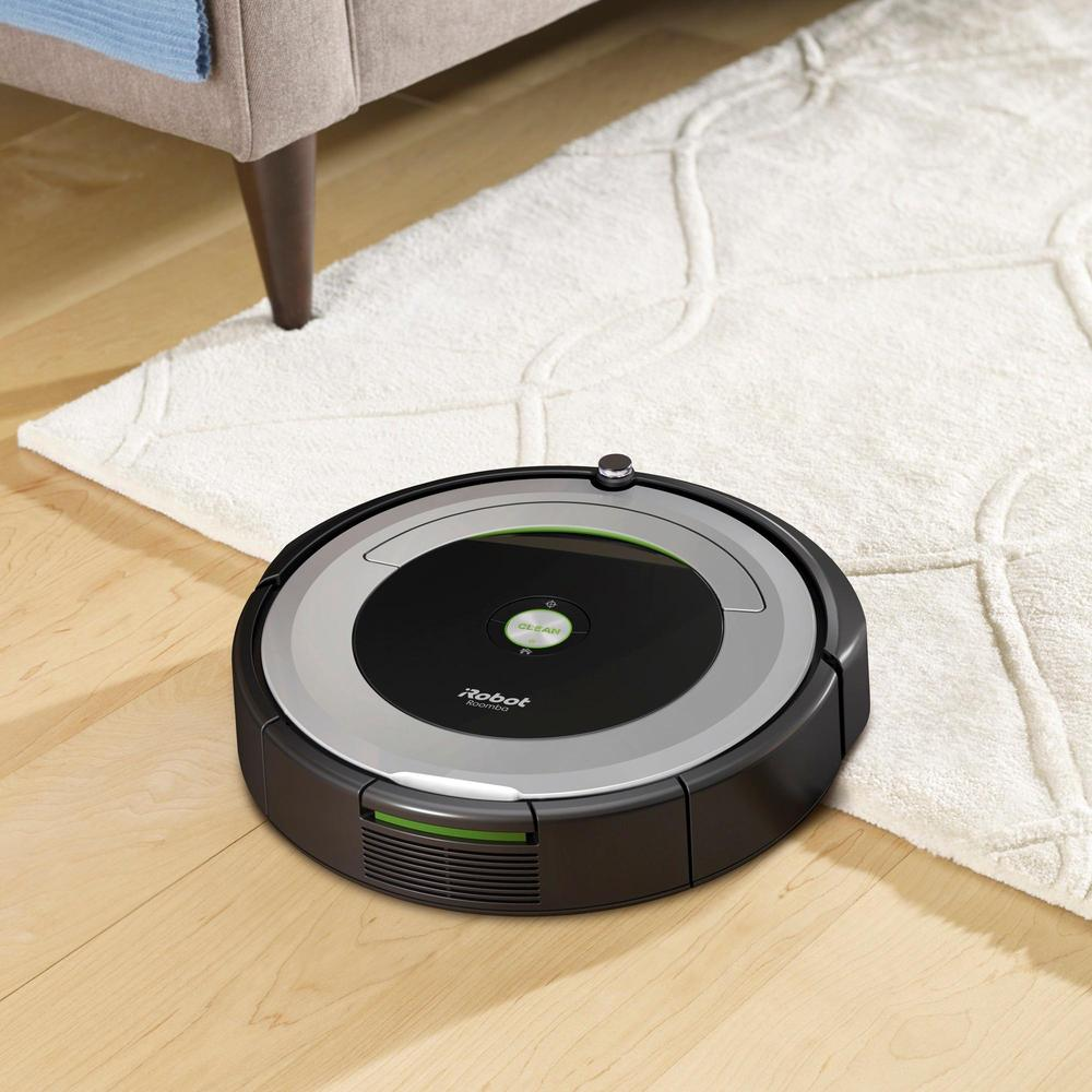iRobot R690020 Roomba App-Controlled Robot Vacuum Black/Silver