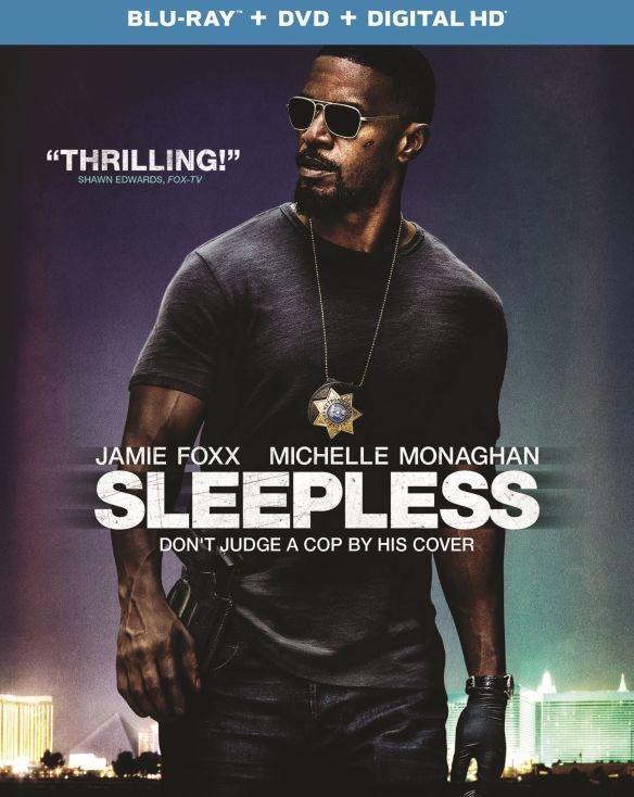 Sleepless [Includes Digital Copy] [UltraViolet] [Blu-ray/DVD] [2 Discs] [2017] 5802921