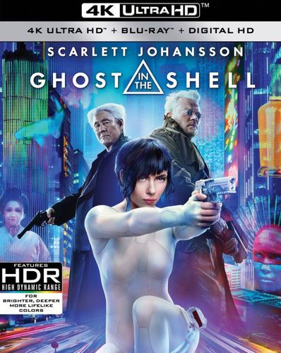 Ghost in the Shell [Includes Digital Copy] [4K Ultra HD Blu-ray/Blu-ray] [2017] 5803305