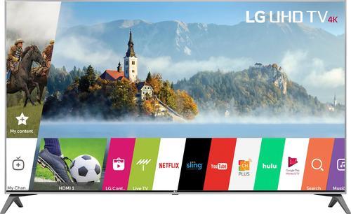 "LG - 55"" Class (54.6"" Diag.) - LED - 2160p - Smart - 4K Ultra HD TV with High Dynamic Range"