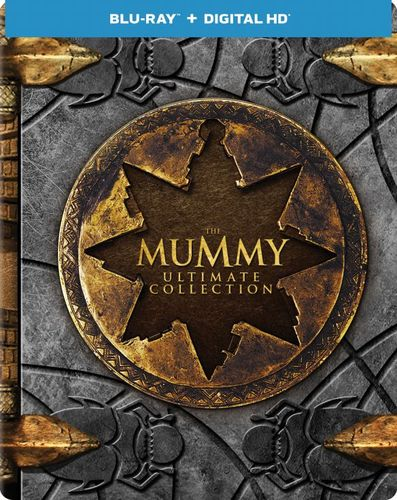 The Mummy: Ultimate Collection [SteelBook] [Includes Digital Copy] [Blu-ray] [Only @ Best Buy] 5804902