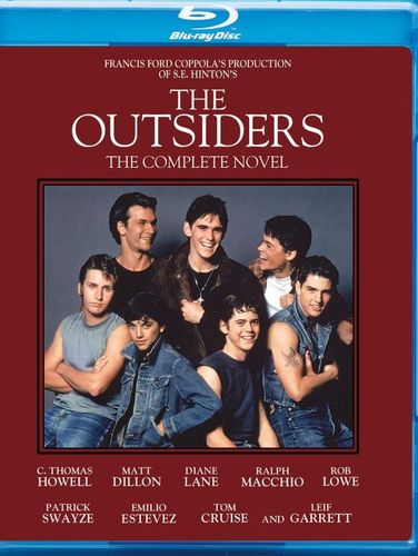 The Outsiders [30th Anniversary Complete Novel Edition] [Blu-ray] [1983] 5806218